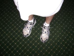 towel-shoes