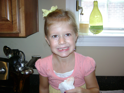 Ava Loses First Tooth 005