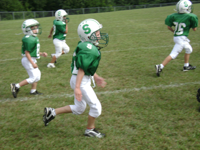 Christopher's 1st Football Game (13)