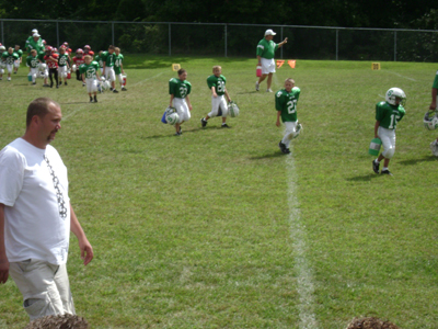 Christopher's 1st Football Game (21)