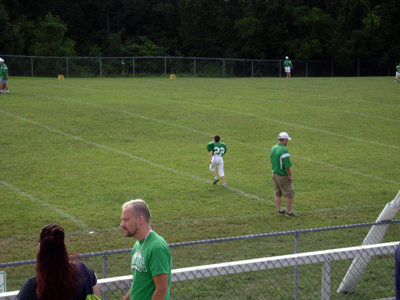 Christopher's 1st Football Game (3)